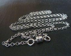24 inch Sterling Silver Chain Arthritis by RenataandJonathan
