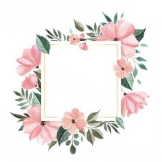 Flower Background Wallpaper, Flower Backgrounds, Background Patterns, Wallpaper Backgrounds, Blog Backgrounds, Wallpapers, Watercolor Leaves, Floral Watercolor, Fond Design