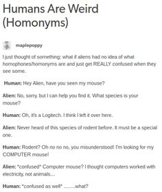Humans Are Weird / Space Australia Homonyms