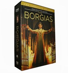 The Borgias Seasons 1-3 DVD, buy cheap The Borgias Seasons 1-3 DVD Box Set with sum of US$40.99 on site, purchase The Borgias DVD Box Set with high quality and fast delivery.