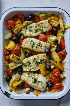 Cod Fish Recipes, Seafood Recipes, Cooking Recipes, Healthy Recipes, Salad Recipes, Dinner Recipes, Mango Recipes, Mediterranean Fish Recipe, Mediterranean Dishes