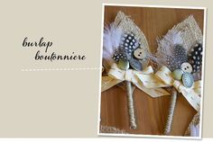 Definitely my favorite DIY boutonniere to date. Via Green Wedding Shoes.