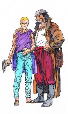 Archer & Armstrong Advertisement Colours Comic Art Barry Windsor-Smith