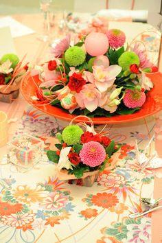 テーブル 帯 結婚式 - Google 検索