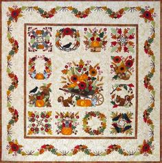 Baltimore Autumn quilt.  Signed up for the block of the month.   ohhhh so excited