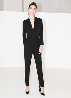 Crossover jumpsuit - View All - Ready to wear - Uterqüe Netherlands
