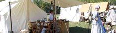 Living History at Jerusalem Mill Village (sundays) - esp. after reading AG's Felicity & Kirsten series.