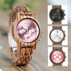 BOBO BIRD Wooden Watch Men for Lovers Couple Wood and Steel Combined women watches with StopWatch часы женские erkek kol saati Wooden Gift Boxes, Wooden Gifts, Wooden Case, Picture Gifts, Swiss Army Watches, Wooden Watch, Watch Sale, Gifts For Girls, Luxury Watches