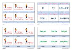 Un jeu de conjugaison pour apprendre et mémoriser la conjugaison à l'imparfait des verbes lancer - manger - jeter - appeler. Cycle 3, Bicycle Quotes, Weight Loss, Memories, Teaching, Education, School, Life, Montessori