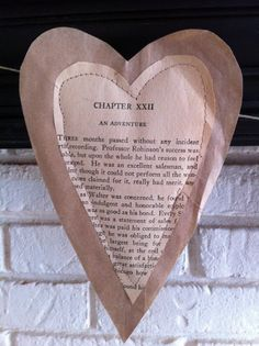 You Could Make That: PAPER HEARTS