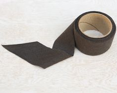 Dark Olive Knit Bias Tape by the Roll  1.25 by felinusfabrics