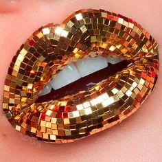 Striking Lip Artworks by Vlada Haggerty - Inspiration Grid Makeup Brands, Best Makeup Products, Makeup Art, Lip Makeup, Fairy Makeup, Mermaid Makeup, Lip Artwork, Orange Lips, Lipstick Art