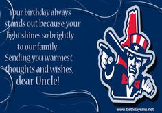 birthday wishes for my uncle