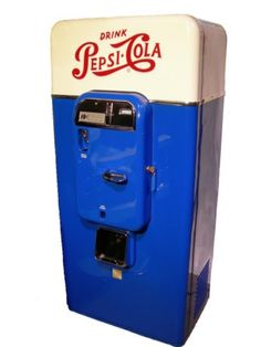 Pepsi Cola Soda Machine
