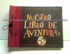 Encuadernación artesanal - Álbumes de fotos tradicionales para bodas, comuniones, personalizados - My adventure book UP - Libro de aventuras