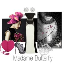 """""""Madame Butterfly"""" by melange-art on Polyvore"""
