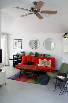 White room, RED sofa - what my house will look like?