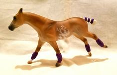 Custom G2 Thoroughbred Stablemate to Polo Pony by Linda R Elkjer.