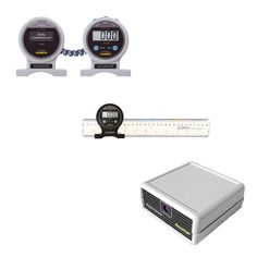 The Acumar Complete Range of Motion Evaluation kit features a dual digital inclinometer, wireless interface, & ruler for measuring ROM with a computer. Measuring Instrument, Range Of Motion, Ruler, Digital, Medical, Rome, Medicine, Med School, Active Ingredient