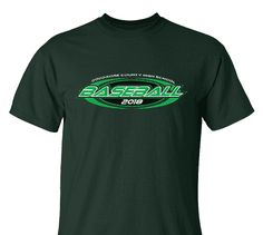 High School Impressions search BSE-007-W; 2018 High School Baseball T-Shirts- Create your own design for t-shirts, hoodies, sweatshirts. Choose your Text, Ink and Garment Colors.  Visit our other boards for other great designs!