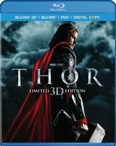 I see a blue ray player in my future.    Thor (Three-Disc Combo: Blu-ray 3D / Blu-ray / DVD / Digital Copy) $30.99