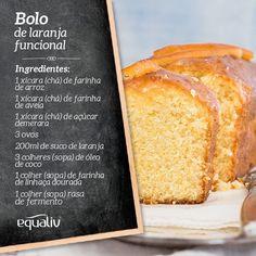 hummmm....Que tal um bolo de laranja funcional para a tarde?  Modo de preparo: bata em uma batedeira os ovos e o açúcar. Adicione o restante dos ingredientes e bata novamente até formar uma massa homogênea. Coloque para assar em uma forma untada com o óleo de coco e farinha de arroz. Leve ao forno preaquecido a 180C em média de 20-30 minutos até dourar.  #receita #bolo #laranja #funcional by equaliv http://ift.tt/1PgJhoN