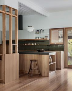 Interior Desing, Interior Architecture, Kitchen Interior, Kitchen Decor, Mid Century Modern Kitchen, The Design Files, House On A Hill, Home Kitchens, Kitchen Remodel