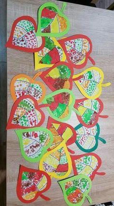 Kunstunterricht - Fall Crafts For Toddlers Kids Crafts, Fall Crafts For Kids, Preschool Crafts, Art For Kids, Diy And Crafts, Autumn Crafts, Autumn Art, Autumn Theme, Autumn Painting