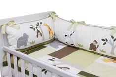Kit de Berço Safari