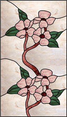 Inspiration ~ Pink Dogwood Window
