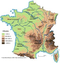 Carte relief francais http://www.laclassedestef.fr/geographie-cycle-3-c1018114