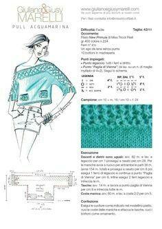 Maglia Giuliano e Giusy Marelli Knitting Kits, Knitting Yarn, Knitting Projects, Hand Knitting, Knitted Christmas Stockings, Christmas Knitting, Crochet Stitches, Knit Crochet, Knitting Patterns