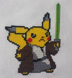On instagram by snoopina813 #8bits #microhobbit (o) http://ift.tt/1SJYVcx!  #crossstitch #crossstitchpattern #embroidery #needlework #needle #craft #diy #artisan  #8bitart #pikachu #yoda #pokemon #starwars #fanart #crossover #nerdcrossstitch #nerdy #nerd #geekcrossstitch #geek #geeky