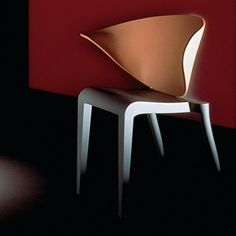 This design is a comfortable one as the curve leads the participant into the chair. It makes it very inviting.