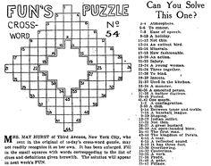 cross word puzzles images from 1910 england - Yahoo Search Results Yahoo Image Search Results Genealogy Humor, Family Genealogy, Family Tree Art, Family Research, Crossword Puzzles, More Games, Cleveland Ohio, Yahoo Search, Family History
