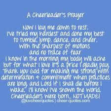 Cheer Quotes / A Cheerleader's Prayer Now I lay me down to rest, I've tried my hardest Cheer Coaches, Cheer Stunts, Cheer Dance, Team Cheer, Cheer Athletics, All Star Cheer, Cheer Mom, Cheer Qoutes, Cheer Sayings