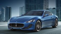 Maserati GranTurismo S.  This car is just epic. Powerful and beautiful italian coupe.