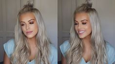 Get Ready With Me   Makeup & Hair Tutorial   Chloe Boucher