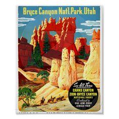 Bryce Canyon National Park Utah ~ nursery print