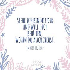 """Baby Spruch Taufe - Spruch zur Taufe von Babys """"Siehe ich bin mit dir und will dich behüten, wohin du auch ziehst."""" Moses 28, 15a - Schöner Taufspruch für Kinder und Karten. #taufe #taufspruch #sprüche #kinder #quote #spruch #familie #bibel #karte #kirche #kurz #biblisch #katholisch"""