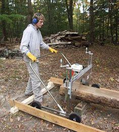 Lumbersmith portable sawmill