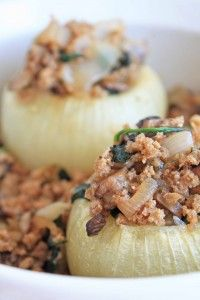 twice baked stuffed onion. perfect for fall supper. tonight.