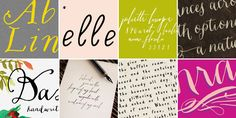 Magpie Paper Works « MyFonts