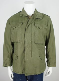 Vintage Military 1970's M-65 Field Jacket by foundationvintage