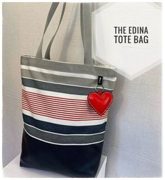 Check out my stylish, artisanal handbags -they can elevate any outfit and upgrade your everyday look!  Find your own unique bag, be stylish, be unique!   The Silver Edina Totebag with chic summer colors, is roomy enough to hold all your stuff. Ideal for everyday, for travel and for the beach. Can Design, Design Your Own, Unique Bags, Summer Colors, Everyday Look, You Bag, Carry On, Finding Yourself, Handbags