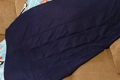 Weighted Blanket #spd http://www.akmayes.com/2011/02/therapy-tuesday-now-i-weigh-me-down.html #sensoryprocessingdisorder