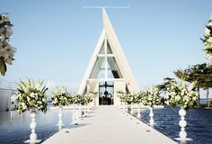 [Bali] Architecture specifically for the function: dreamlike wedding ceremonies undoubtedly take place there