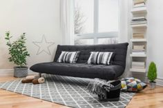 Futons are very practical as they are both sofa and bed at the same time. If you are out for one, here are the best futon mattresses available on the market today. Best Futon Mattress, Futon Bed, Ikea Futon, Ikea Bed, Spacious Living Room, Living Room Grey, Living Room Decor, Dining Room, Modern Grey Sofa