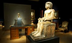 Sekhemka statue The statue dates to the 5th dynasty and depicts Sekhemka who was a scribe and court official, with his wife Sitmerit.