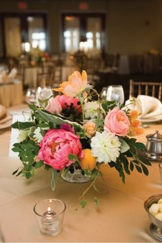 pink-and-orange-centerpiece-with-fruit